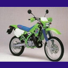 125 KDX type DX125B 1989/2003