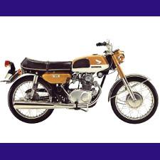 125 CB (K2, K3, K4) 1969/1972
