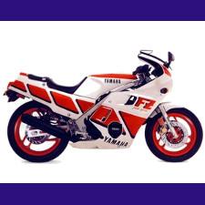 600 FZ type 2HW 1986/1988