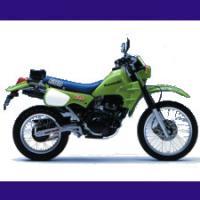 600 KLR type KL600A/B 1984/1994