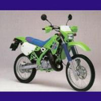 125 KDX type DX125B 1989/2003