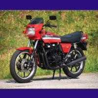 550 GPZ type KZ550B 1980/1981