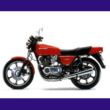 Z500 type KZ500 1981/1982