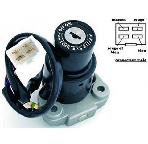 Contacteur à clé, neiman Yamaha XJ 600 et 900, XJ 600 S DIVERSION, FZR 1000, 850 TDM