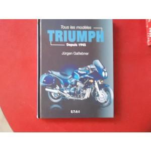 Livre tous les modèles Triumph