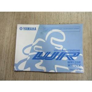 Uso e Manutenzione Yamaha WR125R, WR125X