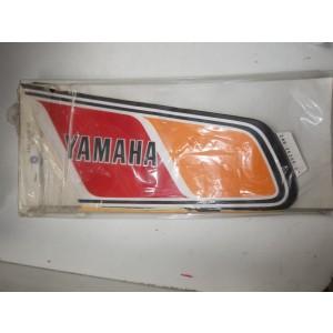 Sticker gauche de réservoir de Yamaha 125 DTMX