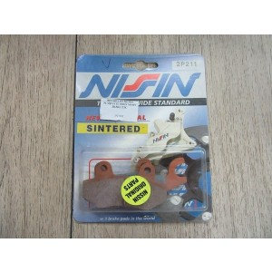 Plaquettes Nissin 2P-211 Semi Metallic
