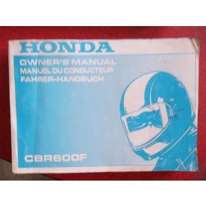 Honda 600 cbr f type pc 25