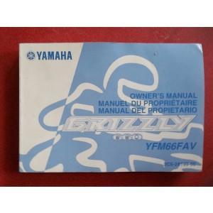 Yamaha Grizzly 660 YFM66FAV