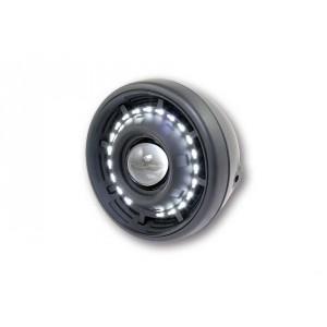 Phare avant rond diam 190 mm veilleuse circulaire leds