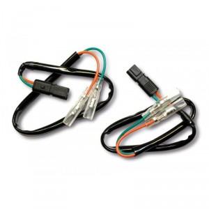 Kit de connexion clignotants sur faisceau d'origine pour motos BMW