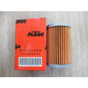 Filtre à huile  KTM 250, 450 EXC, SXF, 690 Supermoto (77038005000)