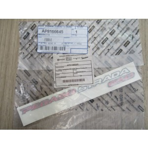 Stickers coque arrière gauche Aprilia 650 Pegaso Strada 2005-2009 (AP8166645)