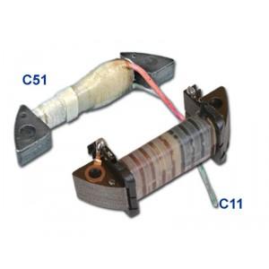 Bobine de stator C11C51 Kawasaki KX80 (79-88), KX100 (81-88), KX250 (82-88), KX500 (86-89)