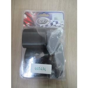 Tampons de protection R&G Yamaha 125 YBR 2005-2013 (CP0352BL)