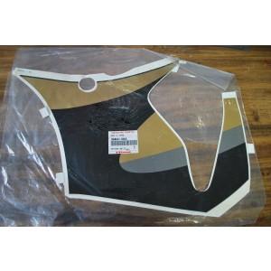 Flanc droit noir gris or Kawasaki ZX-6R 1998-99 (56062-1843)