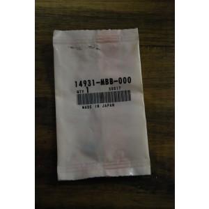 Pastille de réglage de jeu aux soupapes (1,950) Honda CRF 1000 Africa Twin, CRF 450 R, XLV 1000 Varadéro, VTR 1000 (14931-MBB-000)