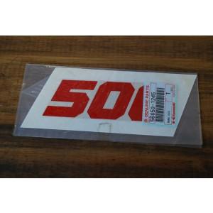 Emblème 500 de sabot Kawasaki GPZ 500 S 1987-91 (56050-1245)