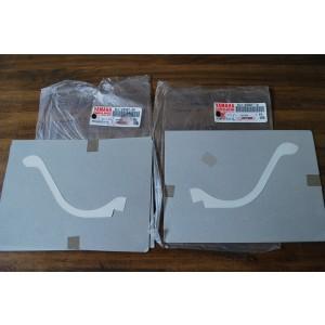 Jeu de 2 sticker joint tête de fourche Yamaha FZS 1000 Fazer 2001-2002-2005 (5LV-28307-10 et 5LV-28307-00)
