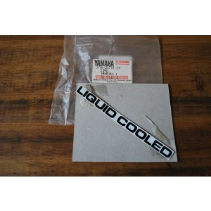 Emblème Liquid Cooled Yamaha 80 DTLC 1984 (37E-21781-00-00)