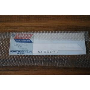 Sticker cache latéral Yamaha 125 DTMX (2A8-24246-11)