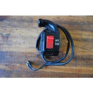 Commodo droit Yamaha 600 XT 1984-85 (43F), 600 XT (2KF) 1987-88, 600 XT Ténéré (55W) 1984-85 (43F839760000 ou 1KH839760000)