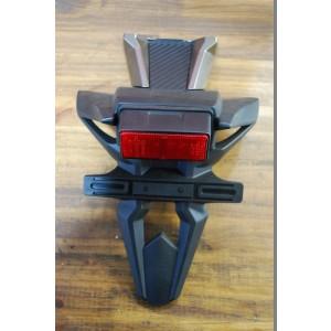 Support de plaque, garde boue arrière Suzuki 600 GSX-R 2008-2010