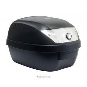 Top Case 28L Noir Mat Dim : 39x39x29cm (1 Casque) Livré avec Platine1