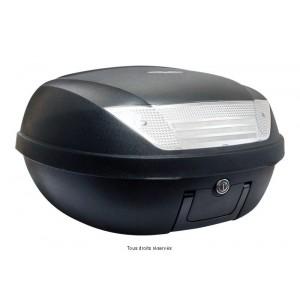 Top Case 52L Noir Mat Dim : 58x45x32.5cm (2 Casques) Platine et Poignée1