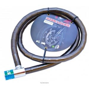 Câble Articulé Ø 18mm x 1200mm  Couleur fumé0