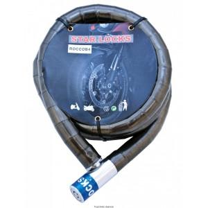 Câble Articulé Ø 22mm x 1500mm Couleur fumé0