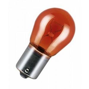 Ampoule Stop 1 fil - 12V 21W Orange Ba15s (x10)0