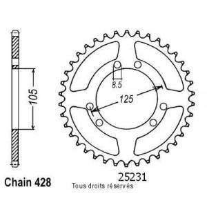 Couronne Xt 125 R 04-   Pas428/Z500
