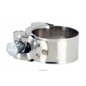 Collier pour Silencieux Ø : 52/55mm Vendu par boite de 100