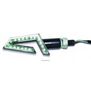Paire de Mini Cligno LED C.E 15 Leds Homologués C.E0