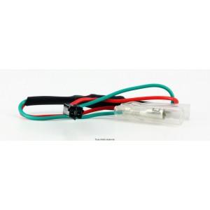 Cable Connecteur Cligno Honda - Kawasaki  0