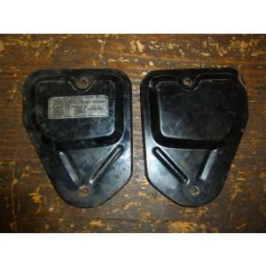 Jeu de deux capots de filtre à air Honda CB125 Twin (1978-80)