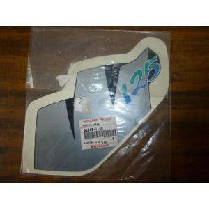 Sticker de cache latéral gauche Kawasaki KMX 125 1992 (56060-1158)