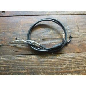 Jeu de deux câbles de gaz Kawasaki ZX12R 2002-2005