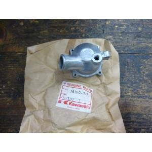 Carter de thermostat Kawasaki ZZR 600 1990-06, GPX 750 R 1987-89, ZZR 1100 1995-99, ZRX 1200 2001-06, 1200 ZZR 2002-05 (16160-1117)