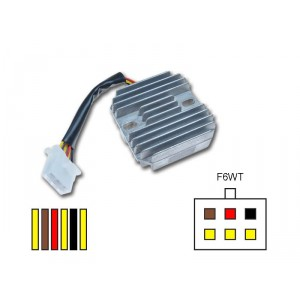 Régulateur RR14 KAWASAKI GPZ 500/750/1100, KLE500, EN 500, EL250 Eliminator, Z1000