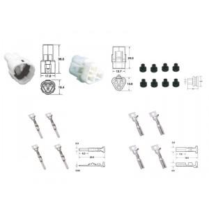 Kit de connexion type 090 SMTO étanche à 3 voies, bloc mâle et femelle