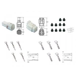 Kit de connexion type 090 SMTO étanche à 4 voies, bloc mâle et femelle