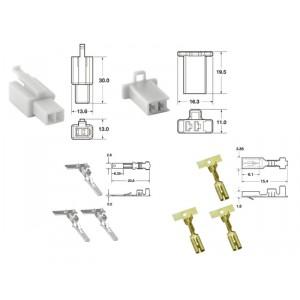 Kit de connexion type 110ML non étanche à 2 voies, bloc mâle et femelle