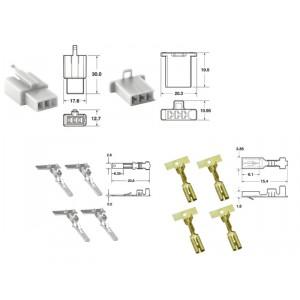 Kit de connexion type 110ML non étanche à 3 voies, bloc mâle et femelle