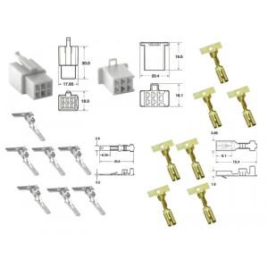 Kit de connexion type 110ML non étanche à 6 voies, bloc mâle et femelle