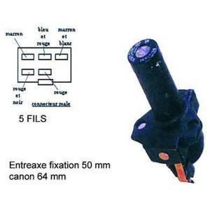 Contacteur à clé, neiman Honda 400 VFF, 750 VFR, 1000 CBR, 1000 VFF, 500 VT, 650 CX, 500 CB