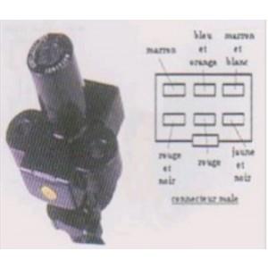 Contacteur à clé, neiman Honda CBR 1000 F 1993-1996 (connexion 6 fils) SC25