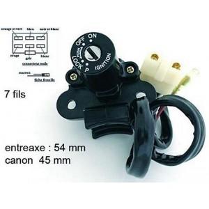 Contacteur à clé, neiman Kawasaki 750 ZXR 1993-1995, ZZR 600 1990-1992